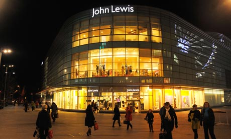 John Lewis store in Liverpool