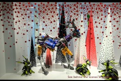 John Lewis Christmas window display on Oxford Street
