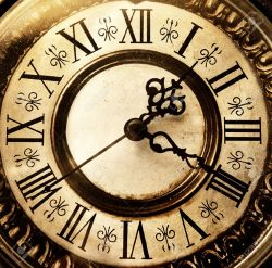 3985302-Old-antique-clock-Stock-Photo-vintage